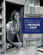 Policy Brief - A Promise To Keep